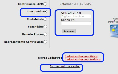 acesso Nota Fiscal Paulista