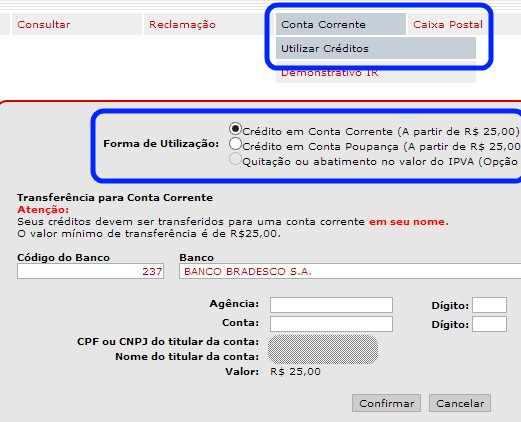 resgatar créditos nf paulista